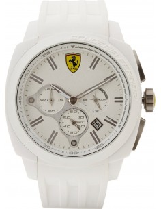 Chic Time | Montre Homme Ferrari Aero Evo 0830119 Blanc  | Prix : 249,00€