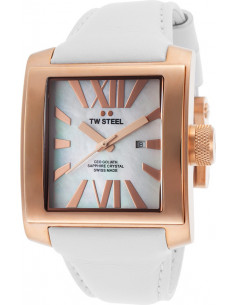 Chic Time | Montre Homme TW Steel CEO Goliath CE3016 Blanc  | Prix : 679,00€