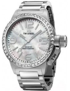 Chic Time | Montre Femme TW Steel Canteen TW302 Argent - Prix : 509,00 €
