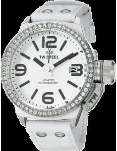 Chic Time   Montre Mixte TW Steel Canteen TW35 Blanc    Prix : 759,00€