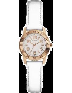 Chic Time | Montre Femme Guess W0545L1 Blanc  | Prix : 189,00€