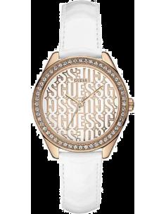 Chic Time | Montre Femme Guess W0560L3 Blanc  | Prix : 129,00€