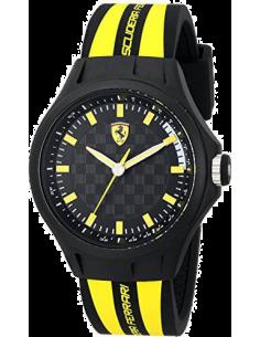 Chic Time | Montre Homme Ferrari Pit Crew 0830171 Noir  | Prix : 139,00€