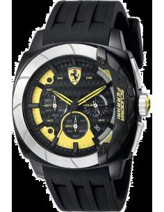 Chic Time | Montre Homme Ferrari Aero Evo 0830206 Noir  | Prix : 299,00€