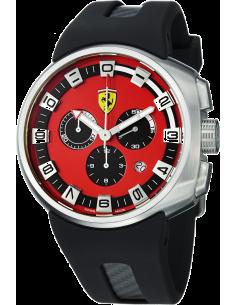 Chic Time | Montre Homme Ferrari FE-10-ACC-CG/FC-RD Noir  | Prix : 1,049.00