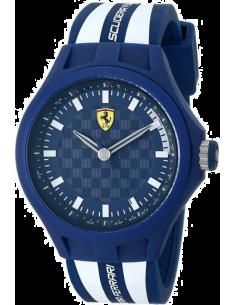 Chic Time | Montre Homme Ferrari Pit Crew 0830193 Bleu  | Prix : 139,00€