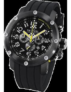Chic Time | Montre Homme TW Steel Emerson Fittipaldi TW610 Noir  | Prix : 819,00€