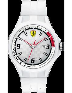 Chic Time | Montre Homme Ferrari Pit Crew 0830003 Blanc  | Prix : 179,00€