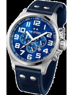 Chic Time | Montre Homme TW Steel Pilot TW403 Bleu  | Prix : 529,00€