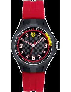 Chic Time | Montre Homme Ferrari Pit Crew 0820002 Rouge  | Prix : 549,00€