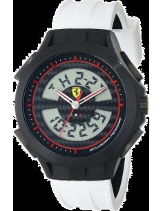 Chic Time | Montre Homme Ferrari 0830020 Blanc  | Prix : 209,00€