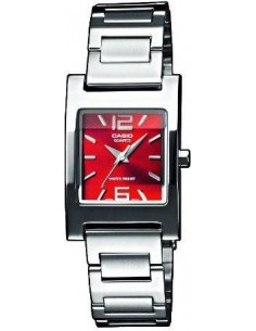 Chic Time | Montre Femme Casio Collection LTP-1283PD-4A2EF Argent  | Prix : 45,00 €