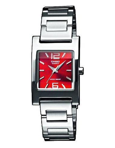 Chic Time | Montre Femme Casio Collection LTP-1283PD-4A2EF Argent  | Prix : 45,00€