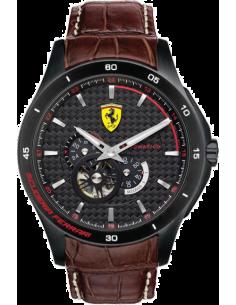 Chic Time | Montre Homme Ferrari Gran Premio 0830107 Marron  | Prix : 719,00€