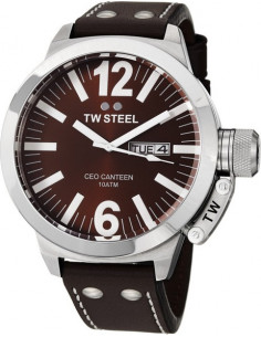 Chic Time | Montre Homme TW Steel CEO Canteen CE1010 Marron  | Prix : 449,00 €
