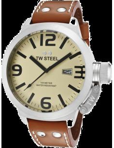 Chic Time | Montre Homme TW Steel Canteen TW21 Marron  | Prix : 319,00€
