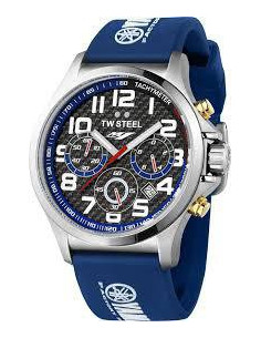 Chic Time | Montre Homme TW Steel Yamaha Factory Racing TW927 Bleu  | Prix : 599,00€