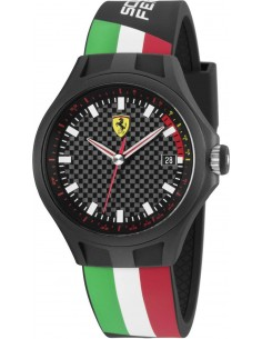Chic Time | Montre Homme Ferrari Pit Crew 0830131 Noir  | Prix : 199,00€