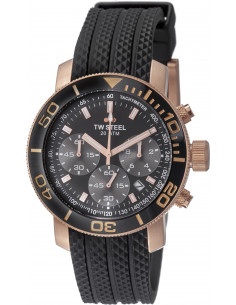Chic Time | Montre Homme TW Steel Grandeur Tech TW702 Noir  | Prix : 359,00€
