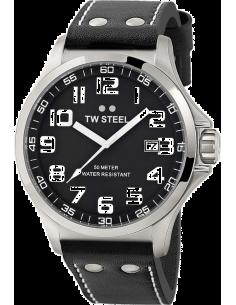 Chic Time | Montre Homme TW Steel Pilot TW409 Noir  | Prix : 329,00€