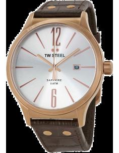Chic Time | Montre Homme TW Steel Slim Line TW1304 Marron  | Prix : 249,00€