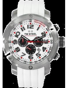 Chic Time | Montre Homme TW Steel Grandeur Tech TW123 Blanc  | Prix : 519,00€
