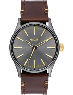 Chic Time | Montre Homme Nixon Sentry A377-595 Marron  | Prix : 189,00 €