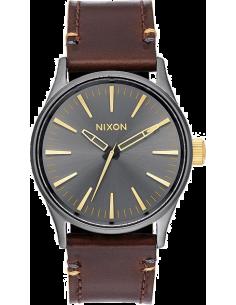 Chic Time | Montre Homme Nixon Sentry A377-595 Marron  | Prix : 189,00€