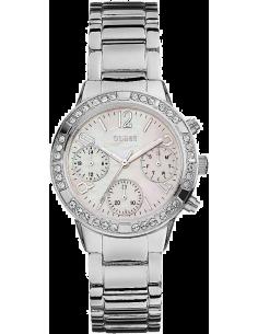 Chic Time   Montre Femme Guess W0546L1 Argent    Prix : 359,00€