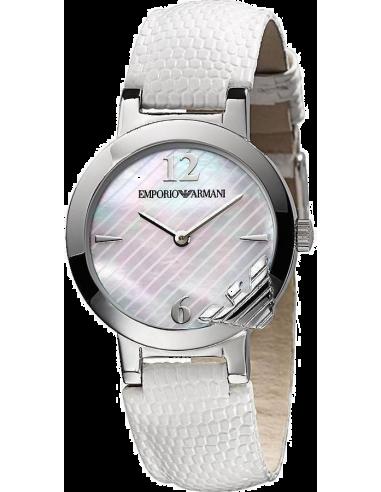 Chic Time | Montre Femme Emporio Armani AR0745 Blanc  | Prix : 199,00€