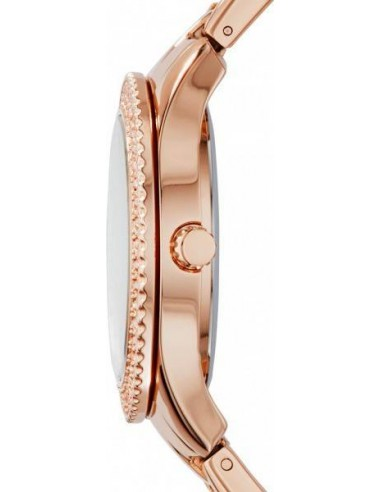 Chic Time   Montre Femme Fossil Stella ES3590 Or Rose    Prix : 160,65€