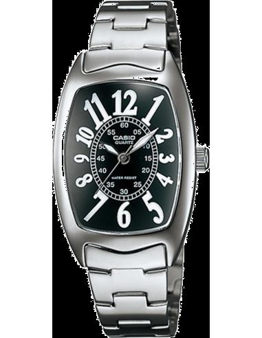 Chic Time | Montre Femme Casio LTP-1208D-1BDF Argent  | Prix : 35,10€