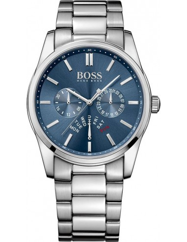 Chic Time   Montre Homme Hugo Boss Classic 1513126 Argent    Prix : 424,15€