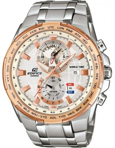 Chic Time | Montre Homme Casio Edifice EFR-550D-7AVUEF Argent  | Prix : 199,00€