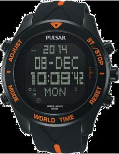 Chic Time | Montre Homme Pulsar PQ2037X1 Noir  | Prix : 169,00€