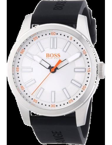 Chic Time | Montre Homme Boss Orange 1512937 Noir Grand boîtier  | Prix : 169,15€