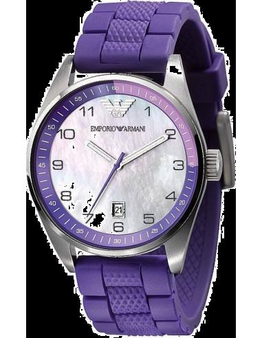 Chic Time | Montre Femme Emporio Armani AR5881 Bracelet violet  | Prix : 199,00€