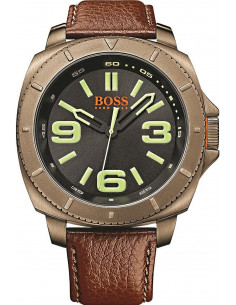 Chic Time | Montre Homme Boss Orange1513164 Marron  | Prix : 186,15 €