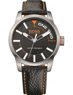 Chic Time | Montre Homme Boss Orange 1513214 Noir  | Prix : 83,40 €
