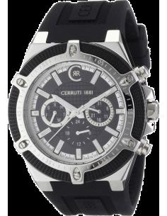 Chic Time | Montre Homme Cerruti 1881 CRA036E224H Argent et noir  | Prix : 359,00€
