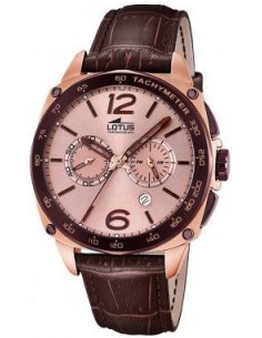 Chic Time | Montre Homme Lotus Smart Casual L18217/2 Marron  | Prix : 229,00 €