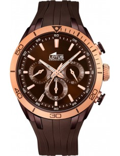 Chic Time | Montre Homme Lotus Smart Casual L18194/1 Marron  | Prix : 179,00 €