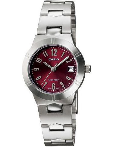 Chic Time | Montre femme Casio Casio LTP-1241D-4A2DF Silver Stainless Steel band  | Prix : 34,20 €