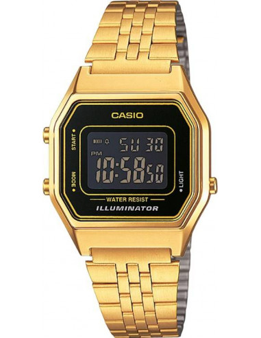 Chic Time | Casio Casio Vintage LA680WEGA-1BER Or  | Prix : 48,90€