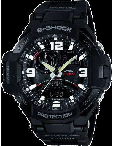Chic Time | Montre Homme Casio G-Shock GA-1000FC-1AER Noir  | Prix : 203,00€