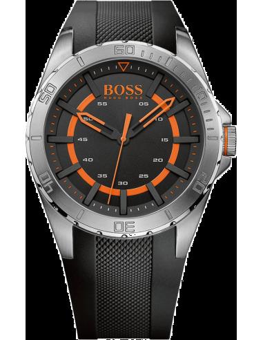 Chic Time   Montre Homme Boss Orange 1513200 Noir    Prix : 194,65€