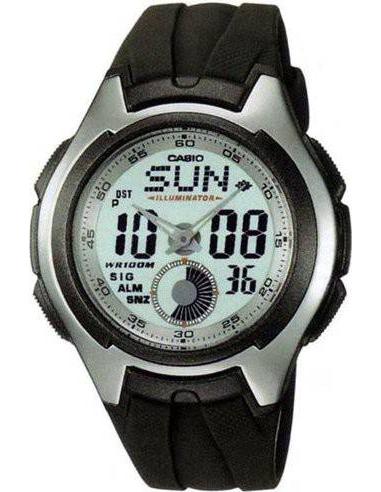 Chic Time | Montre Homme Casio AQ-160W-7BVDF Noir  | Prix : 69,00€