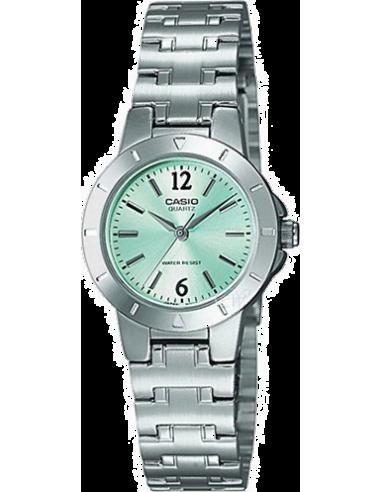 Chic Time | Montre Femme Casio LTP-1177A-3ADF Argent  | Prix : 49,00€