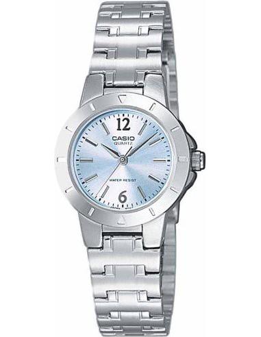 Chic Time | Montre Femme Casio LTP-1177A-2ADF Argent  | Prix : 36,99€