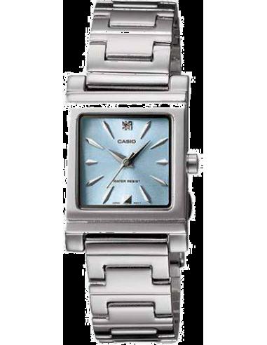 Chic Time | Montre Femme Casio LTP-1237D-2A2DF Argent  | Prix : 27,23€